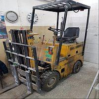 Wózek jezdniowy podnośnikowy z mechanicznym napędem podnoszenia, typ: RAK7A