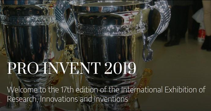 PRO INVENT 2019: 3 złota, 1 srebro dla IW