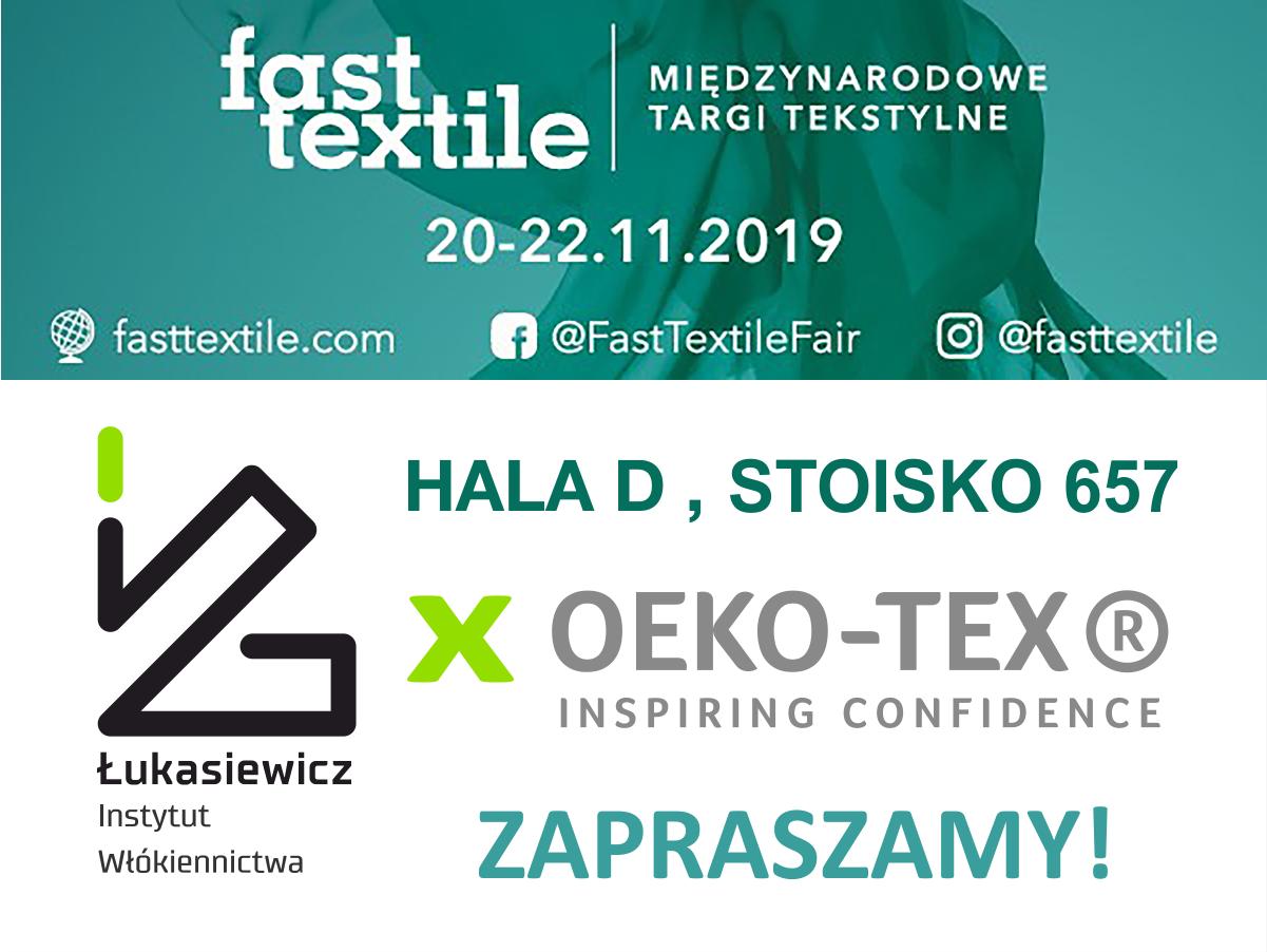 Łukasiewicz – Instytut Włókiennictwa na Fast Textile 2019
