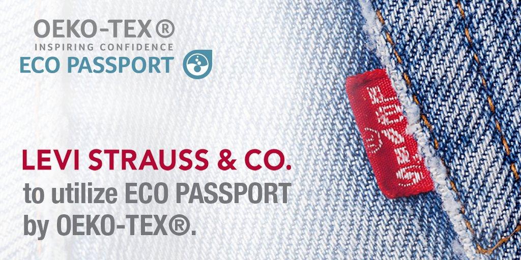 Levi Strauss & Co. będzie korzystać z  ECO PASSPORT by OEKO-TEX®