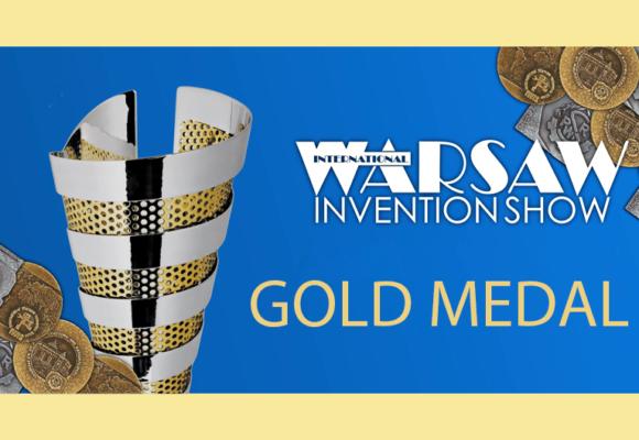 Złoty Medal na International Warsaw Invention Show 2020 dla Ł-IW