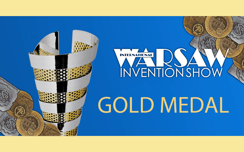 Złoty Medal na International Warsaw Invention Show 2020 dla Ł-IW
